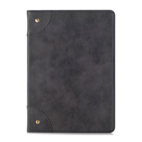 Para Apple iPad Pro Tablet 2017de 10,5caso, inteligente libro funda soporte funda de piel sintética tipo libro para ranuras para tarjetas piel con función de encendido y apagado automático para iPad 2017