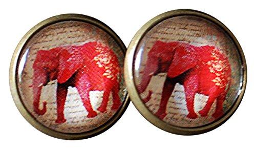 MADAM Palazzo Lili Elefantes Bronce Pendientes