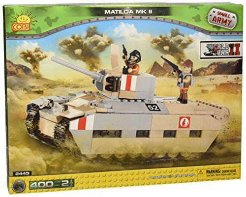 Cobi 2445 Small Army - World War II - Matilda MK II