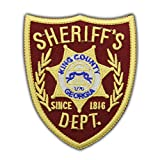 Walking Dead Sheriff's Dept. King County Embroidered Patch