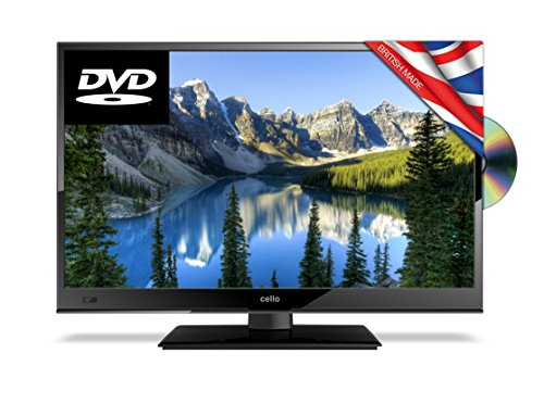 Cello C24230FT2 24-Inch Full HD LED TV with Built-in DVD Player and Freeview HD - Manufactured in the UK