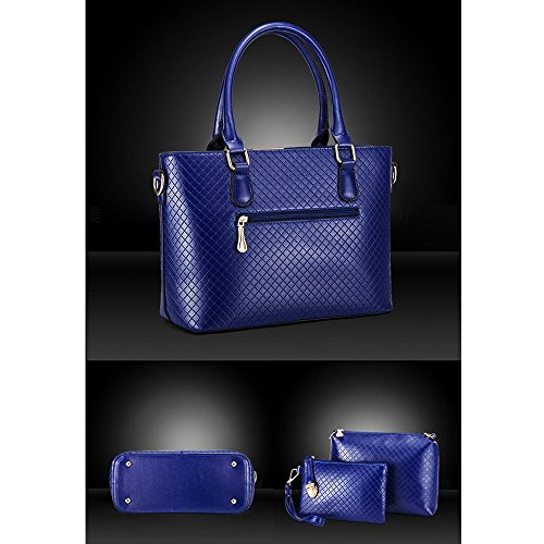 Anne, Borsa a spalla donna nero White Blue