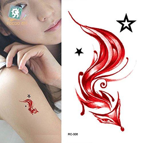 temporare-korperkunst-entfernbare-tattoo-aufkleber-fuchs-rc2306-sticker-tattoo-temporary-tattoo-fash