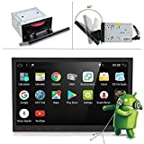 """10.1"""" Rotate Screen Universal Upgraded Android 7.1 2GB-RAM Car Stereo Head Unit 2"""