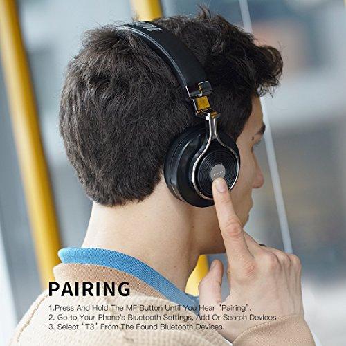 c45fbc72903 PrevNext. 1. 2. 3. 4. Bluedio T3 (Turbine 3rd) Auriculares Bluetooth  Diadema Abiertos con microfono Efecto 3D Estereo ...