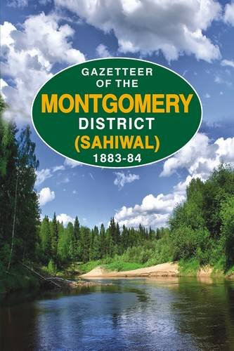Gazetteer of the Montgomery District (Shiwal) 1883-84