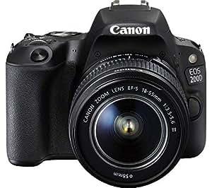 Canon EOS 200D - Fotocamera digitale SLR Set + obiettivo 18-55mm III