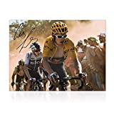 Exclusive Memorabilia Photo Cycliste du Tour De France signée Geraint Thomas: Corner néerlandais