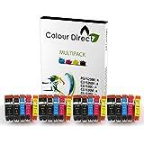 20 Colour Direct Compatible Cartouche D'encres Pour CANON PGI525 CLI526 - CANON PIXMA IP4850 IP4950 MG5150 MG5250 MG5300 MG5320 MG5350 MG6150 MG6220 MG6250 MG8150 MG8170 MG8220 MG8250 MX715 MX885 MX895 IX6550 imprimante