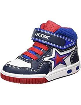 Geox Jr Gregg A, Zapatillas Altas para Niños