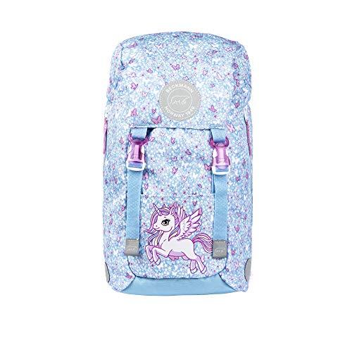 Kindergartenrucksack Jungs und Mädchen Wanderrucksack Kinder - Kinderrucksack gepolstert für EIN angenehmes Tragegefühl (Unicorn)