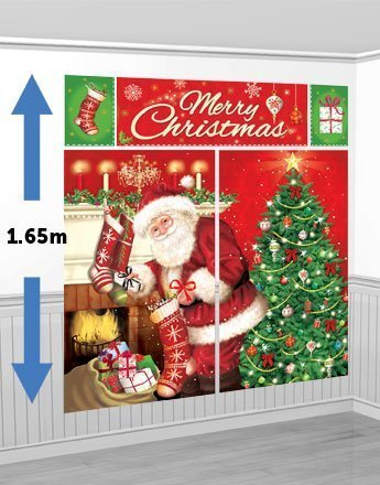 Magical Christmas Scene Setter Kit - 1.65m by Magical Christmas Scene Setter Kit - 1.65m