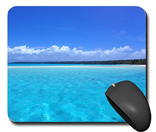 Mausp0802 Mauspad Meer Urlaub Sonne Strand 2a Mausunterlage Mausmatte Mousepad Pc Computer NEU