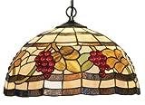 Oaks Lighting Grapes Tiffany Pendant, 16-inch