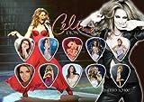 Celine Dion - Présentoir de 10 Médiators - Display (100 exemplaires)