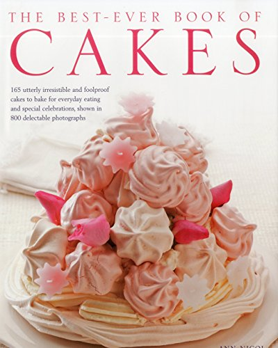 Portada del libro The Best-ever Book of Cakes by Ann Nicol (7-Feb-2011) Hardcover