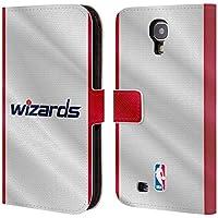 Oficial NBA Washington Wizards funda de piel tipo libro para Samsung teléfonos 1, piel sintética