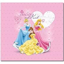 Sandylion - Álbum de fotos, diseño de Princesas (30 x 30 cm), diseño repujado con brillantina, multicolor