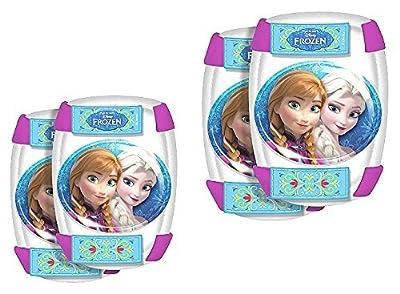 Frozen Disney Ellenbogen Knie Schützer Schoner 4 Teile im Set Eiskönigin