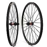 Yuanan 29er MTB-Rad, Cross-Country, Carbon-Laufradsatz, 35 mm Breite, asymmetrisch, schlauchlos, bereit für XC oder AM Mountainbike DT 240 Nabe