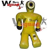 Wagsam Sports Grappling BJJ- Chupete de hombro amplio MMA para entrenamiento de combate con forma de hombre de 1,8 m