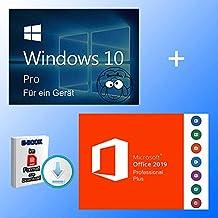 Windows 10 Pro + Office 2019 professional plus Key als Bundle + EBOOK