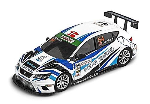 Ninco - Seat Leon Cup Racer Polar, coche de juguete (50657)