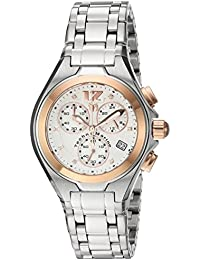 TechnoMarine TM-215023 - Reloj de cuarzo para mujeres, color plata
