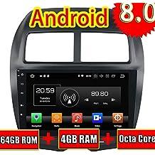 ROADYAKO Radio Estéreo para Mitsubishi ASX 2010 2011 2012 2013 2014 2014 Auto DVD de 8