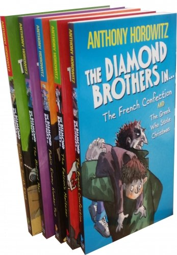 The Diamond Brothers Detective Agency Collection Anthony Horowitz 7 Books Set...