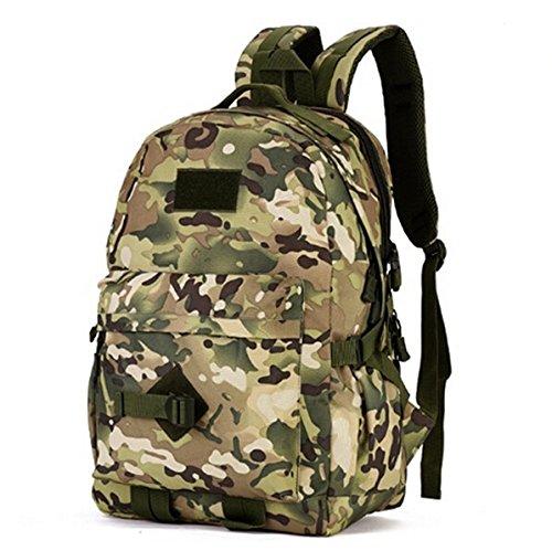 Mefly 40 L Taktiken Militärischen Tasche Rucksack Schule Rucksäcke Für Junge Mädchen Teenager An Der High School Middle School Taschen Große Kapazität cp