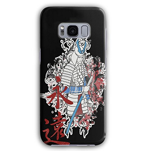 Wellcoda Kunst Fantasie Samurai Japan Kunst Fantasie Samurai Japan Hülle für Samsung Galaxy, Katana Rutschfeste Hülle - Slim Fit, Schutzhülle, bequemer ()