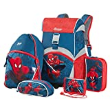 Sammies by Samsonite - Schulranzen Set 5 tlg. - Spider-Man Marvel