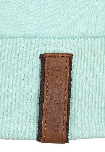 naketano femelle Sweat-shirt 2heures sikis Sport III Ice Green Melange