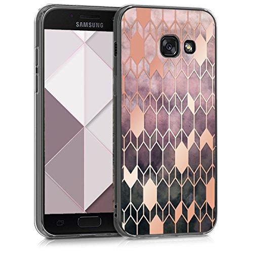 kwmobile Samsung Galaxy A3 (2017) Hülle - Handyhülle für Samsung Galaxy A3 (2017) - Handy Case in Pink Rosegold