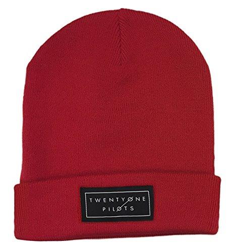 21 Twenty One Pilots Bonnet Cap band Logo clique nouveau officiel Rouge
