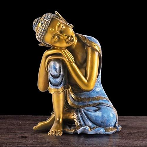 Figura Estatua de Buda. Gama Figuras de Buda para Interior. Peso: 1.6 Kg. (Tamaño: A)