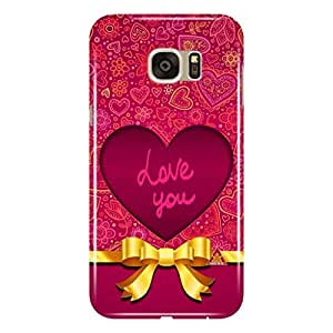 a AND b Designer Printed Mobile Back Cover / Back Case For Samsung Galaxy S7 Edge (SG_S7P_3D_3343)