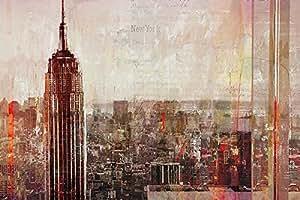 Tableau-châssis : markus haub shades of new york toile 60 x 90 cm