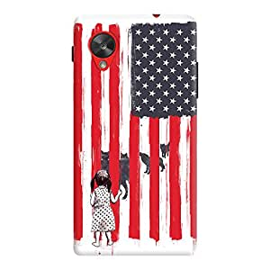 DailyObjects Little Girl And Wolves Case For LG Google Nexus 5