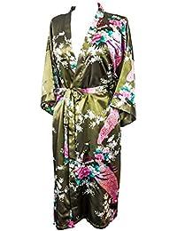 Kimono de CC Collections 16 Colores Shipping Bata de Vestir túnica lencería Ropa de Noche Prenda