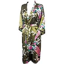 Kimono de CC Collections 16 Colores Shipping Bata de Vestir t/única lencer/ía Ropa de Noche Prenda Despedida de Soltera