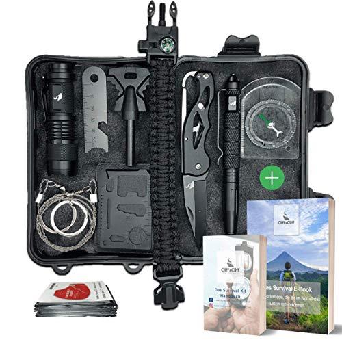 Survival Kit für Camping und Wandern