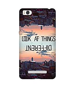 Look at things differently Xiaomi Mi 4i Case