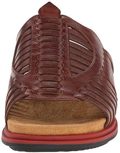 Naya Kicker Cuir Sandale Caramel