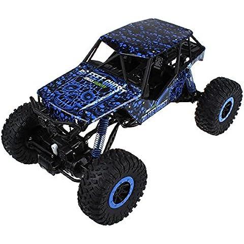 Coche Rc Cazador Rock Crawler 1:10 | Tracción 4x4 | 20 Minutos | LED's Frontales | Iniciación para