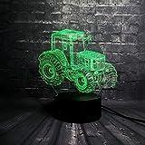 LIX-XYD Umgebungslicht, LED-Lampe Fernbedienung Multicolor Schlafzimmer Tabelle Schlaf-Nachtlicht-Kinder Geschenk des neuen Jahres Schwimmen Stimmungslicht (Color : Cool Car Vehicle)