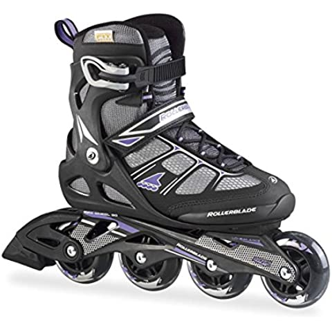Rollerblade Pattini in linea Macroblade 80 Comp W Black / Purple 23m