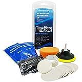 Kit de polissage rénovation phares voiture - Retrouvez l'éclat de vos optiques - Delonnay