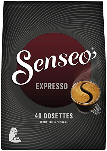Senseo Café Expresso - 200 dosettes souples - lot de 5 x 40 dosettes